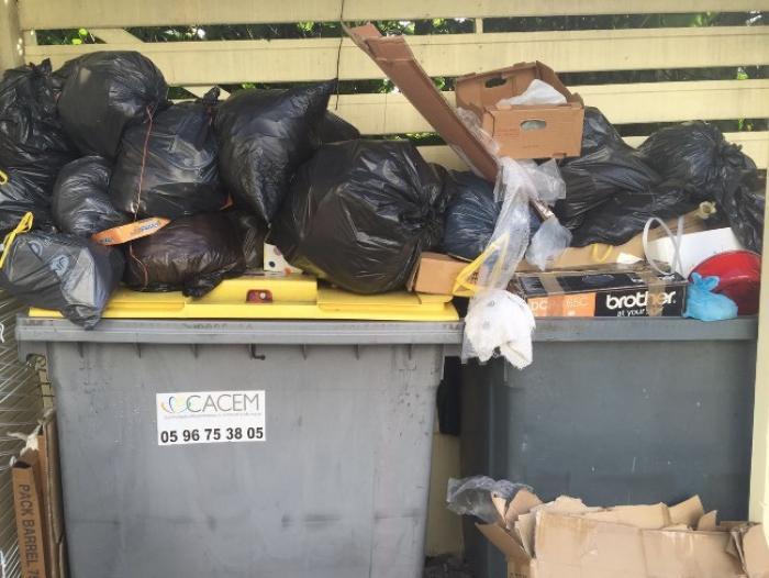 Cacem : le ramassage des ordures est toujours chaotique