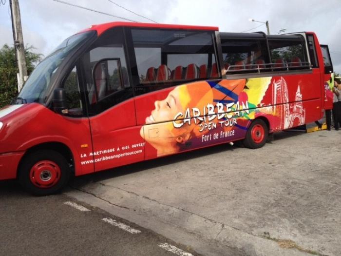 Caribbean Open Tour : un bus pour sillonner le Nord