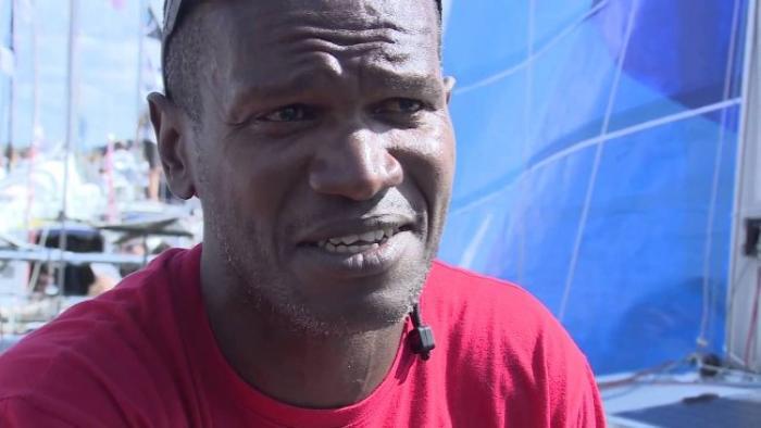Carl Chipotel termine 24e de la première étape de la Mini-Transat- Iles de Guadeloupe