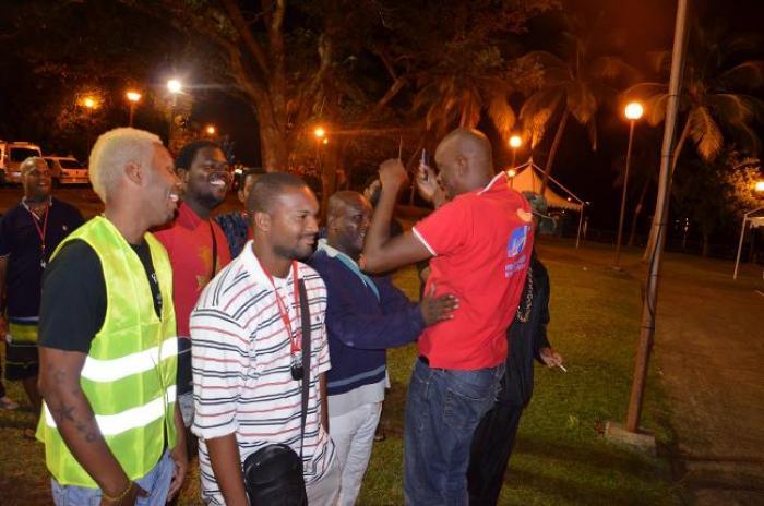 "Carnaval 2015 : 1er ""pyjama lévé"" au Robert avec RCI"