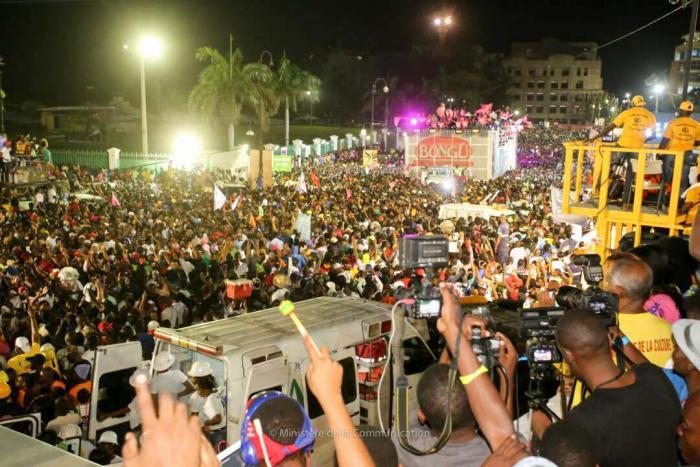 Carnaval d'Haïti : 877 blessés dont 17 par balles
