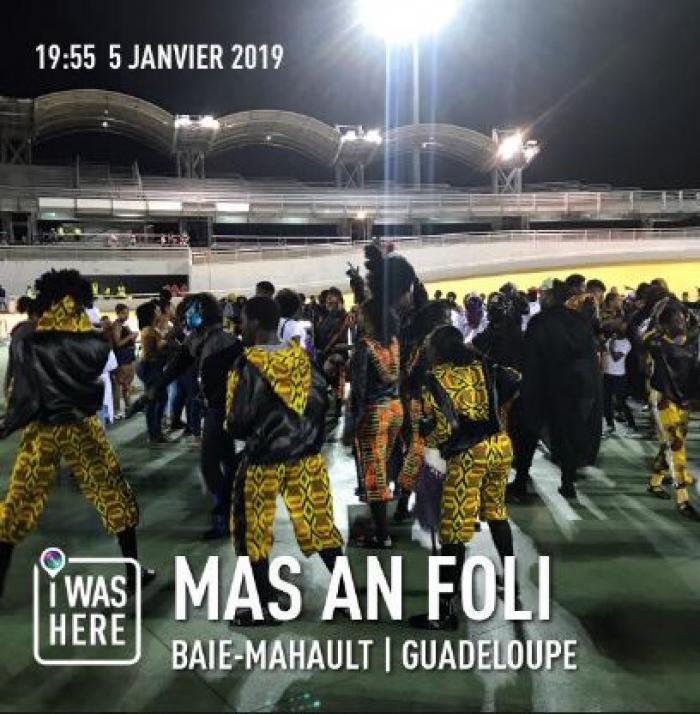 """Carnaval : participation timide au """"Mas an foli"""""""