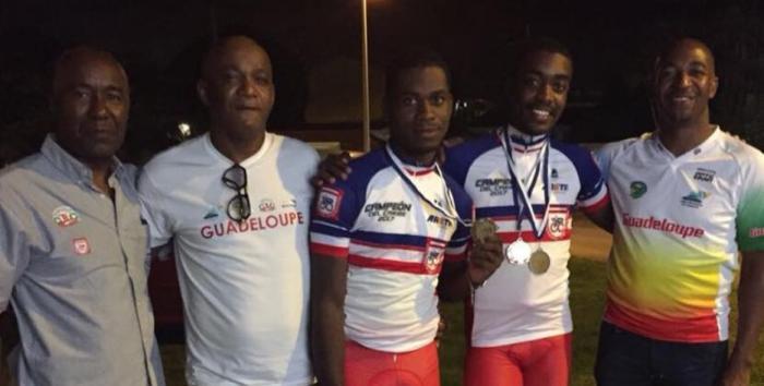 Championnat de la Caraïbe : 2 médailles d'or pour le cyclisme guadeloupéen