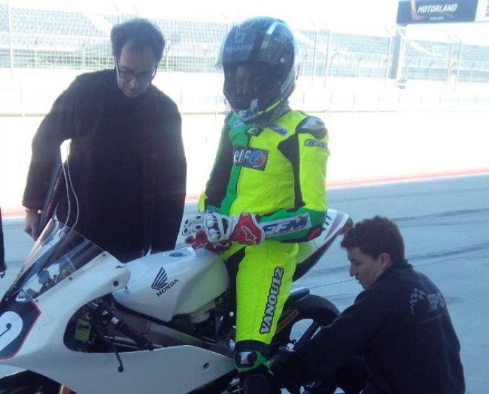 Championnat du monde junior de moto : Cap sur l'Espagne pour Lyvan Luchel