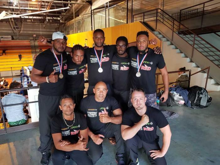 Championnats de France de Pancrace : les résultats des combattants martiniquais