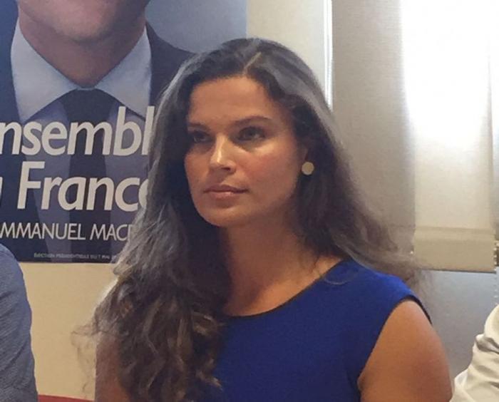 Charlotte Gressier est le visage de La République en Marche en Martinique
