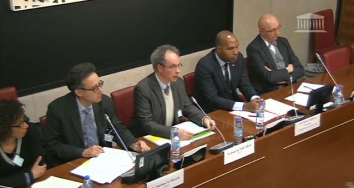 Chrlodécone : la délégation outre-mer de l'Assemblée auditionne le directeur adjoint de l'Anses