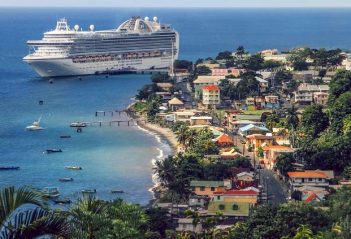 Chute de l'activité touristique à la Dominique en 2017