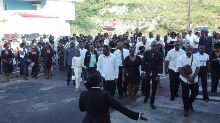 Cindy et ses enfants enterrés ce mercredi après-midi à Anse-Bertrand