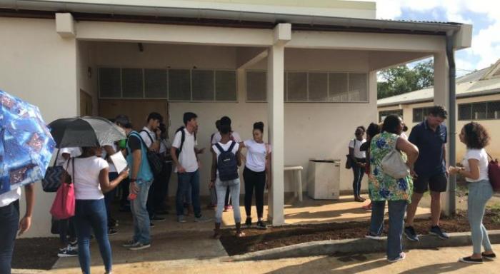 """Cité scolaire de Trinité : """"des travaux sont programmés"""", assurent les autorités"""