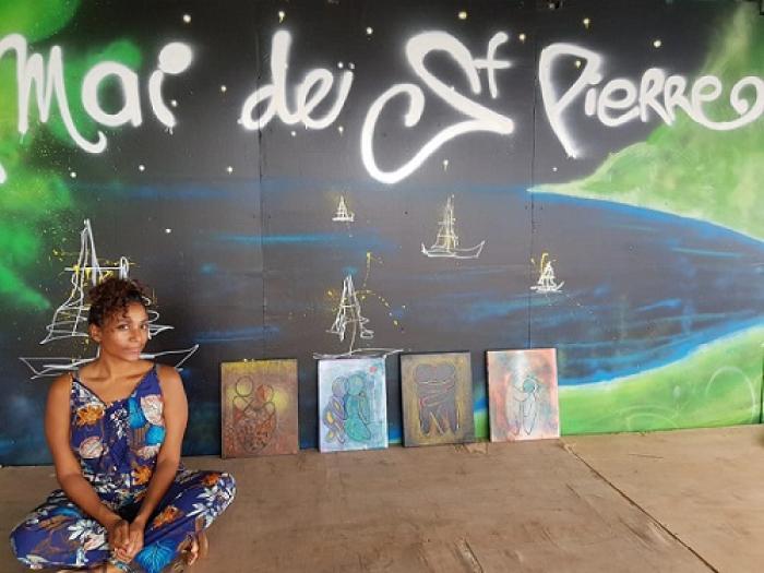 Céline Bernabé expose en Martinique pour la première fois!
