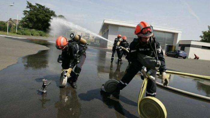 Cérémonie chez les pompiers: des jeunes mineurs engagés