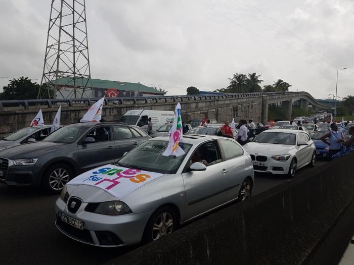 Contrats aidés : l'autoroute quasiment paralysée ce matin