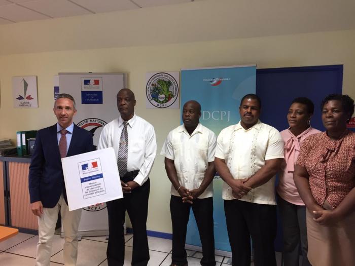 Coopération policière entre la Martinique et la Dominique