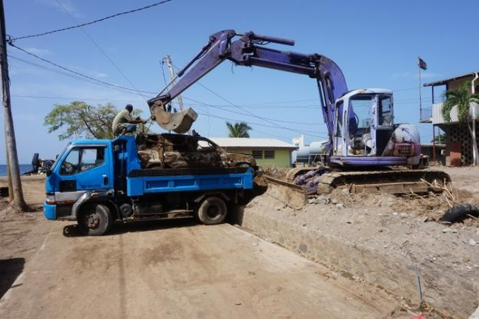 Coulibistrie un village coupé du Monde à cause d'Erika