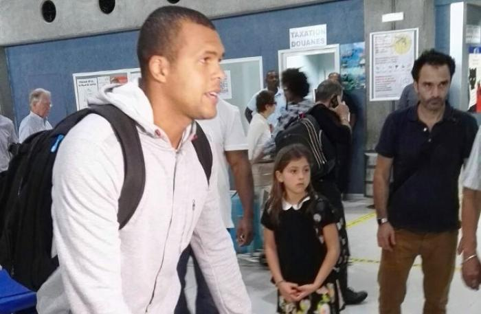 Coupe Davis : Jo-Wilfried Tsonga est arrivé en Guadeloupe