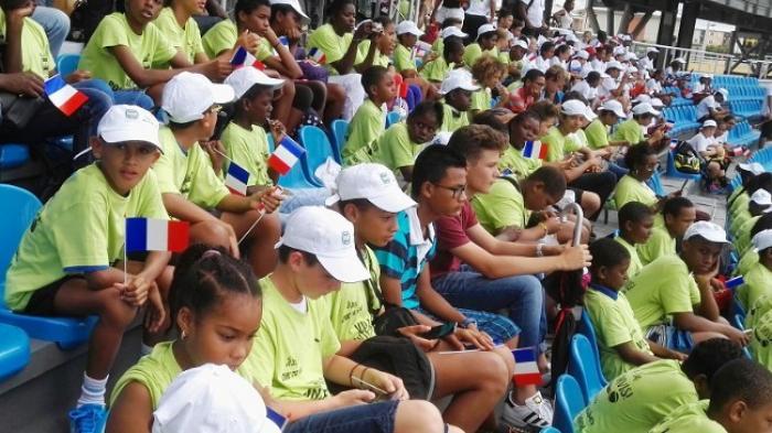 Coupe Davis : les jeunes guadeloupéens invités de la France et du Canada
