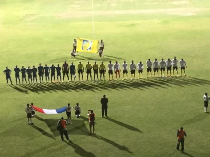 Coupe de football des Nations de la Caraïbe : la Martinique leader de son groupe après sa victoire à la Dominique