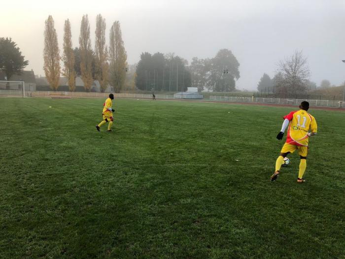 Coupe de France : l'Aiglon se prépare dans le froid