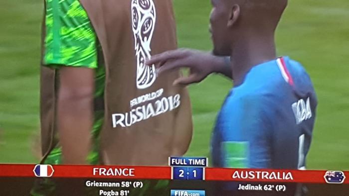 Coupe du Monde : victoire de l'équipe de France 2 buts à 1 face à l'Australie