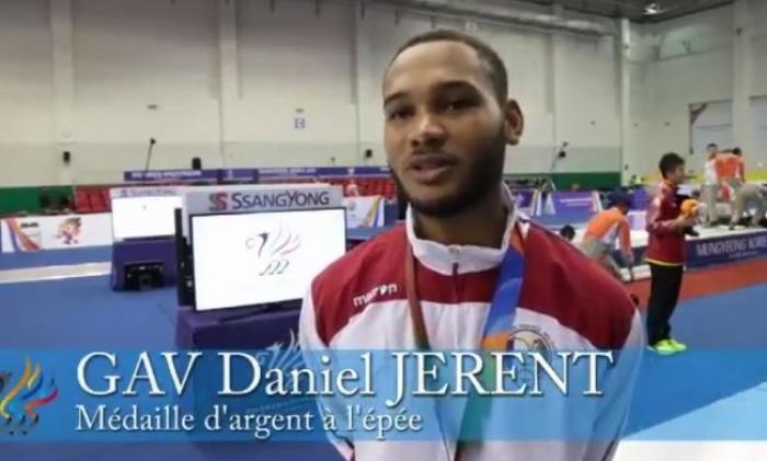 Daniel Jerent vice-champion du monde militaire