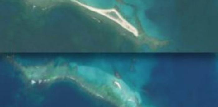 Dans le Pacifique, un super typhon fait disparaître une île