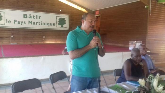 David Zobda est le nouveau président de Bâtir le Pays Martinique