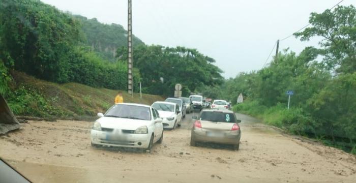 De fortes pluies causent des montées des eaux en Martinique