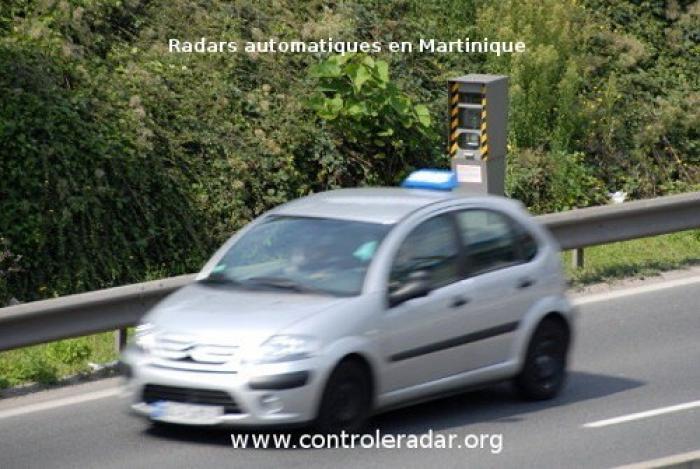 De nouveaux radars fixes mis en circulation en Martinique