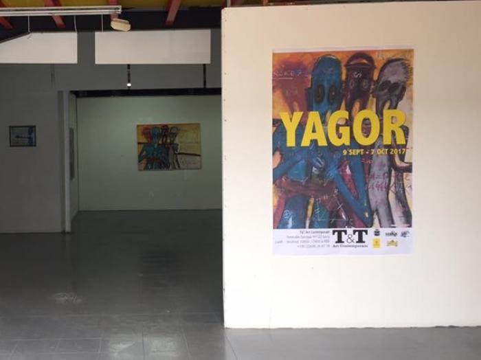 """Dernier jour pour se rendre à  l'exposition """"Chasseurs de poubelles"""" de Yagor"""