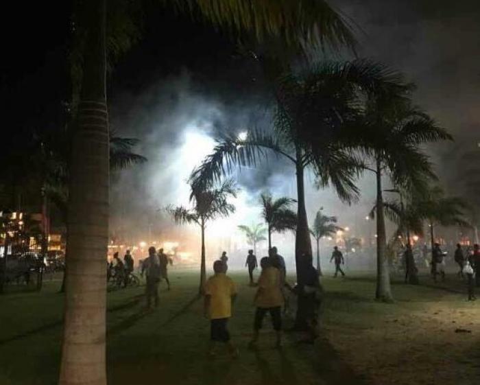 Des affrontements à Cayenne au premier jour de la visite d'Emmanuel Macron