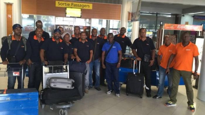 Des agents EDF de Guadeloupe et de Guyane renforcent les équipes en Martinique