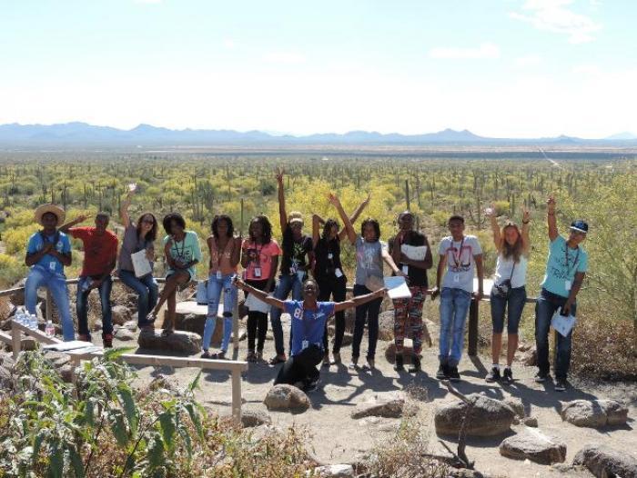 Des collégiens martiniquais en immersion dans le Far-Ouest américain : à nous l'Arizona !