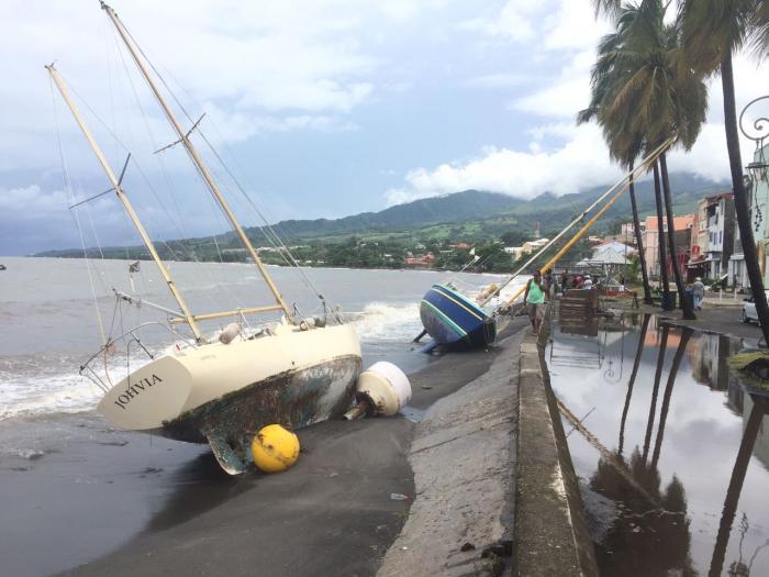 Des dégâts légers dans le nord caraïbe