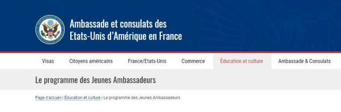 Des lycéens de Martinique peuvent devenir ambassadeurs aux Etats-Unis