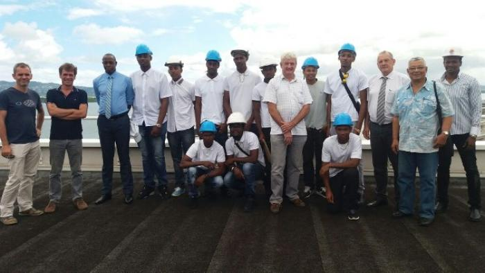Des lycéens installeront la centrale solaire du SMEM