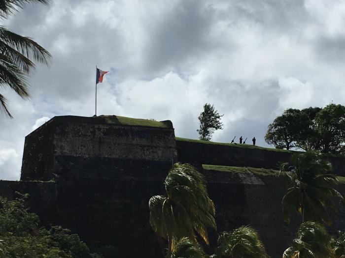 Des tirs de canon au Fort Saint-Louis