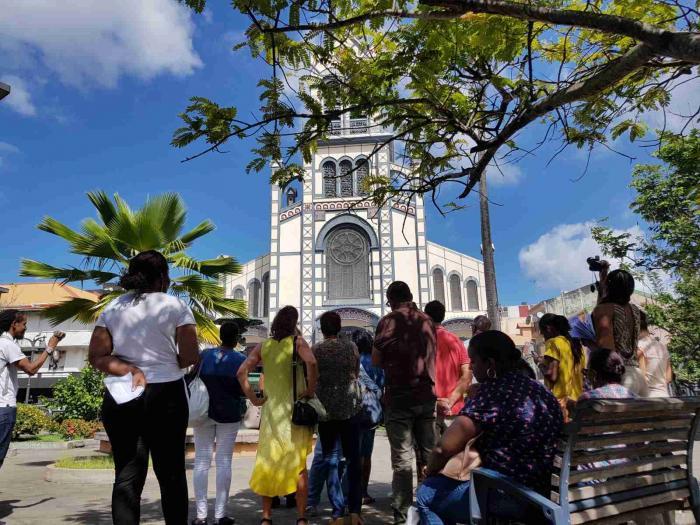Des visites guidées organisées à la Cathédrale de Fort-de-France à l'occasion de la fête de Saint-Louis