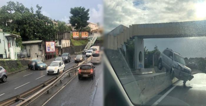 Deux accidents de la circulation recensés sur la Rocade de Fort-de-France