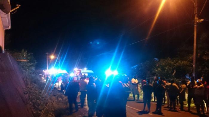 Deux blessés graves dans un accident à Sainte Marie