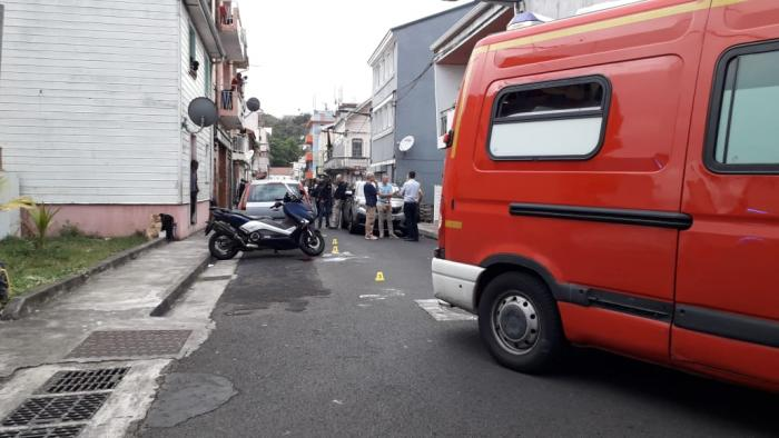 Deux blessés par balle dont un policier ce samedi après-midi à Fort-de-France