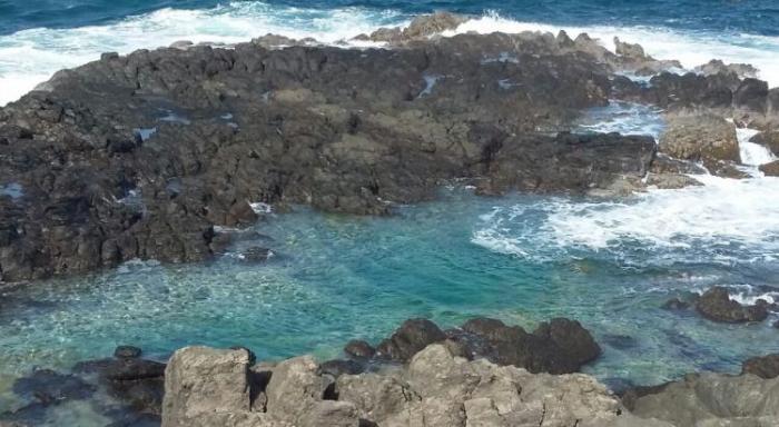 Deux hommes entre la vie et la mort sur le site de l'œil bleu au Cap Ferré à Sainte-Anne