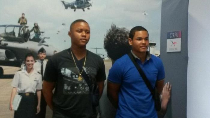 Deux jeunes martiniquais intègrent l'armée de l'air