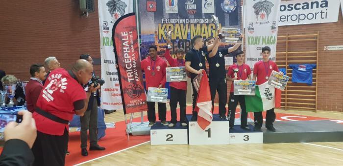Deux jeunes martiniquais vice-champions d'Europe de Krav Maga