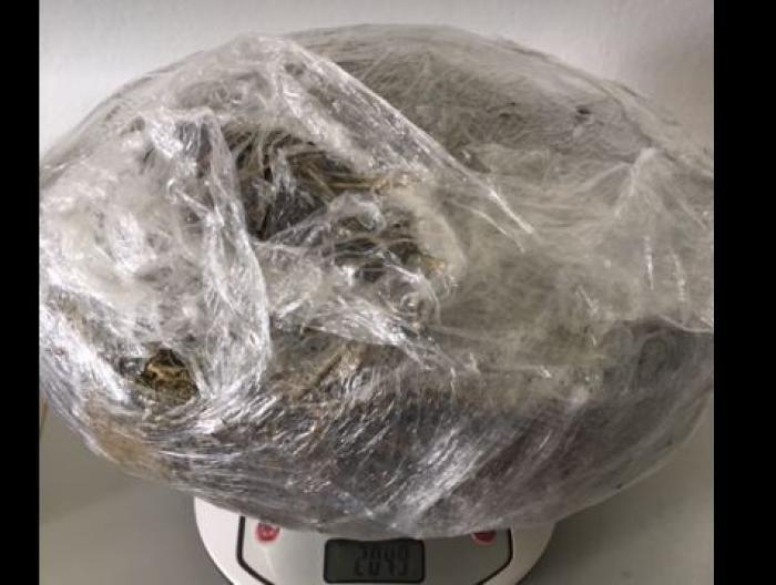 Deux kilos de cannabis saisis à Trinité