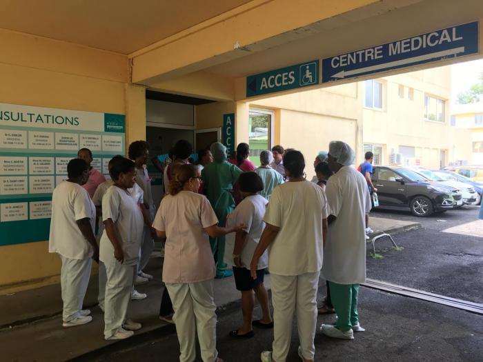 Débrayage à la Clinique Sainte-Marie, ce vendredi matin