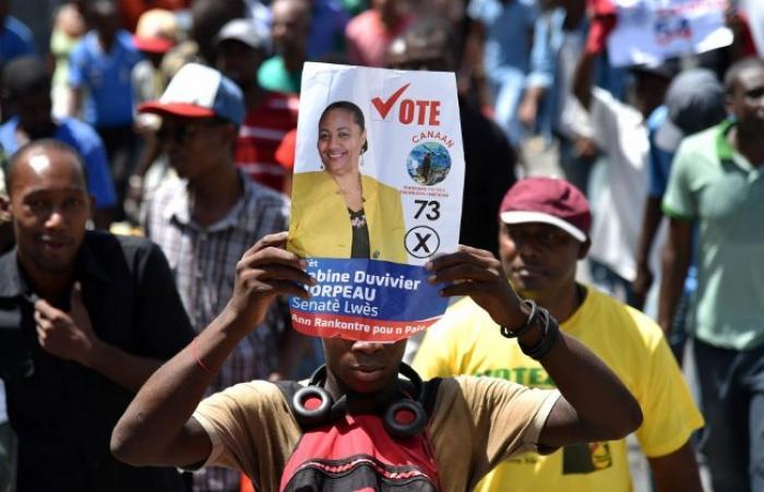 Début de la campagne pour l'élection présidentielle à Haïti