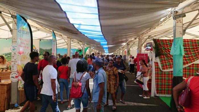 Déjà 13 000 visiteurs au salon de l'agriculture de Martinique