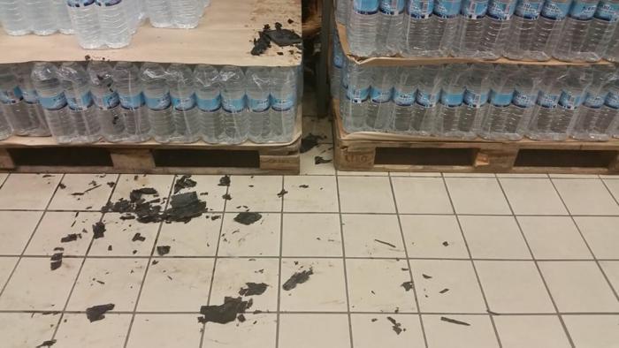 Départ de feu suspect dans un supermarché du Gosier