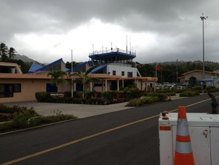 Dominique : L'aéroport de Melville Hall est fonctionnel